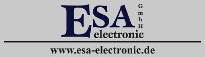 Logo ESA electronic