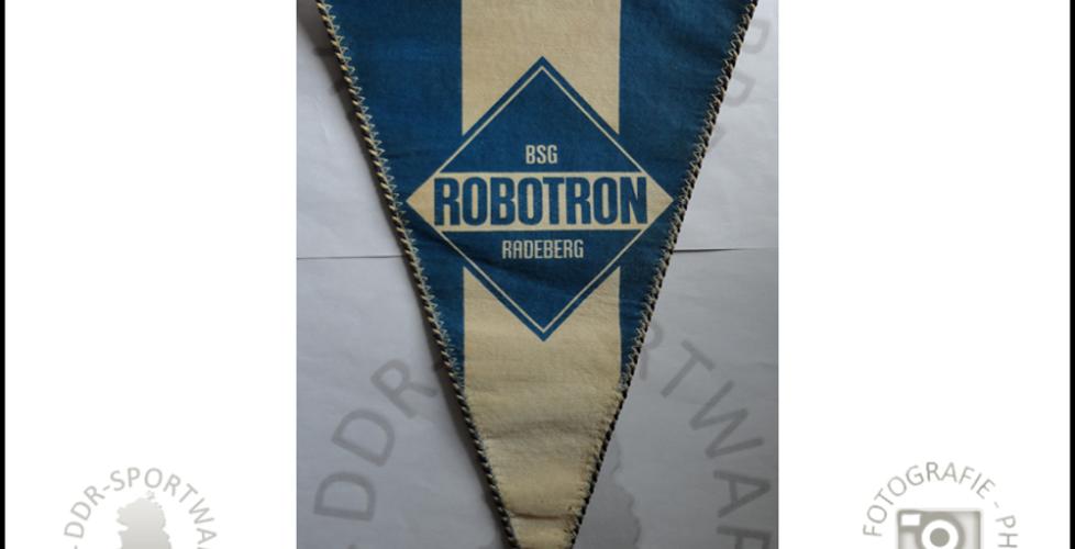 BSG Robotron Radeberg Wimpel