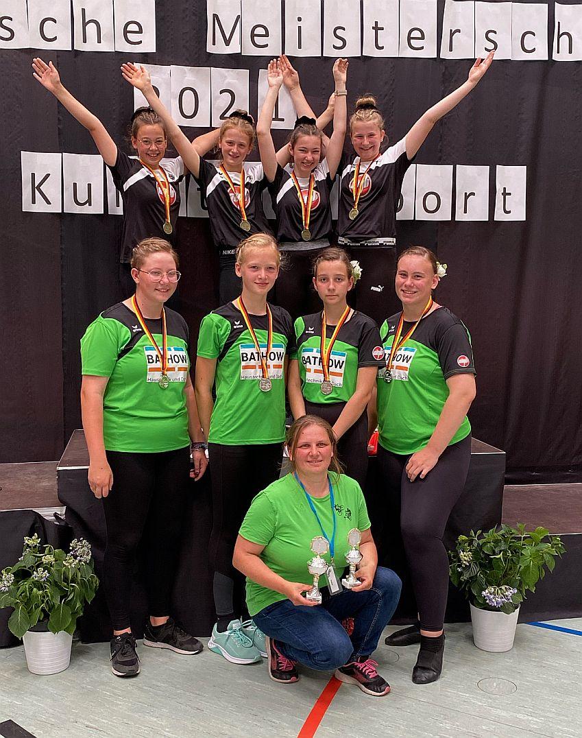 Siegerehrung Team Wiednitz
